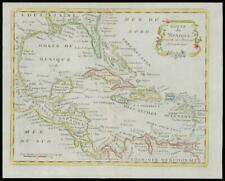 More details for 1787 - antique map caribbean florida gulf mexico usa by de la tour (14)