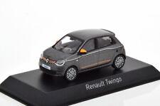 1:43 Norev Renault Twingo 2019 greymetallic/orange