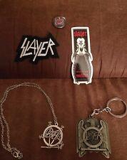 New listing Slayer Neckchain & Pendant Keychain Patch & Button