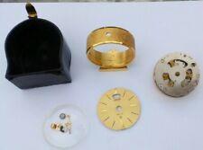 ANCIEN RÉVEIL DE VOYAGE PENDULETTE JAEGER RÉCITAL a restaurer pour pièces SWISS
