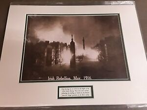 Irish Rebellion May  1916 - PHOTOGRAPH