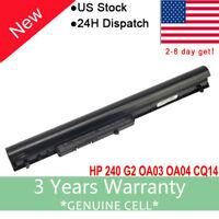 33Wh Battery For HP 240 G2 CQ14 CQ15 HSTNN-LB5S 740715-001 746641-001 OA03 OA04