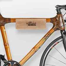 Wandhalterung aus Holz (Bambus) für Fahrräder - Fahrradhalterung Wandhalter