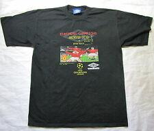 MANCHESTER UNITED Champions League FINAL BARCELONA 1999 shirt UMBRO adult SIZE L
