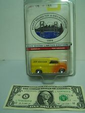 Hot Wheels  Puget Sound Toy & Diecast Show Yellow Dairy Delivery Limited Ed.1999