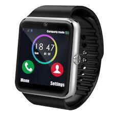 Smartwatch GT08 Bluetooth Armbanduhr SIM Handys Kamera für Android Smartphone DE