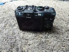 Canon PowerShot G9 12.1 MP Digital Camera Only - Black for parts