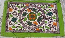 Motifs indiens 2 Taies d'oreiller Housses de coussin Fait main Coton Inde T67