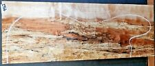 Black Line Spalted Maple Wood #9962 Luthier Guitar Lumber 22x 8.25x 2.25