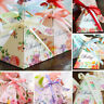 100PCS Spring Flower Wedding Party Sweets Cake Candy Gift Favour Favors Boxes