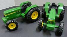 (2) Vintage Ertl John Deere 3140 Tractor Diecast 1:32 Scale
