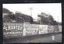 DETROIT TIGERS BASEBALL STADIUM BENNETT PARK 1910 GAME POSTCARD COPY