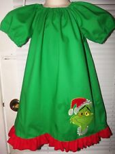 Christmas Grinch  Girls Dress Size 2t,3t OR 4t  Ready to Ship