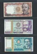 Pérou  Lot de 3 billets différents  en état NEUF Lot Numéro 3