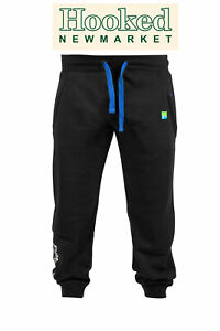 Preston Black Joggers *NEW FOR 2021 - FREE 24 HOUR DELIVERY*