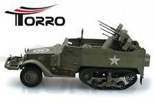 Torro 1:16 m16 chars Halbkette avec FLAK RC Telecommande 5 Canal RTR