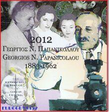 GRIEKENLAND - BU SET 2012 - GEORGIOS N. PAPANICOLAOU + 10 EURO ZILVER