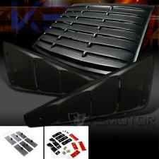 05-14 Ford Mustang 2DR Coupe 1/4 Side Vent+Rear Window Scoop Louver Cover