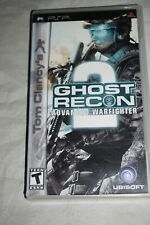 Tom Clancy's Ghost Recon Advanced Warfighter 2 (Sony PSP Portable) Complete