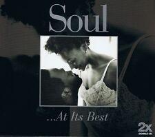 SOUL - ... At Its Best - 2 CDs NEU ROSE ROYCE EDDIE FLOYD JAMES BROWN