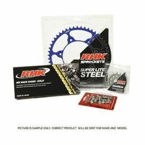Yamaha WR250F 13/52 RHK MX Chain Steel Sprocket Kit 2001 - 2017