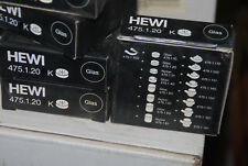 HEWI 475.1.20 K SEIFENABLAGE SEIFEN ABLAGE EINSATZ GLAS 475120 NEU