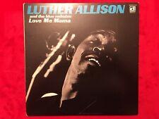 "Luther Allison  ""Love Me Mama""  LP  1ST  Delmark  DS-625  Blues  33rpm  USA  NM-"
