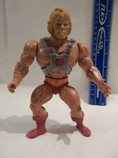 He-Man MOTU Masters / Universe HE-MAN w/ Armor Tight Stands Holds Mex/USA