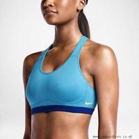 Nike Ladies Pro Fierce Gym Running Yoga Fitness Sleeveless Sports Bra Tank Top