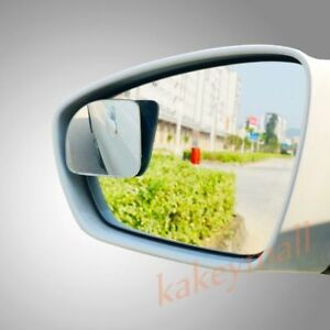 2X Rear Side View Back Blind Spot Mirror Auxiliary Wide Angle Car Auto Accessory