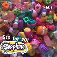 Shopkins BLIND BAG Random Lot of 20 - Season 1 2 3 4 5 6 7 9 No Dupl!!