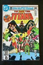 The New Teen Titans 1980 Series #1 DC Comic Book