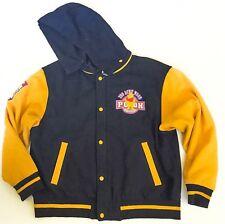 Winnie The Pooh Letterman Varsity Jacket L Vintage Disney Store Navy Blue Coat