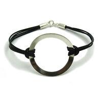 Silber armband 925 Schildkröte mit rote Schnur  B000216R EMPRESS