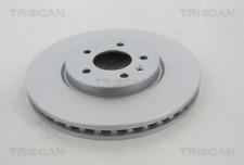 2x Bremsscheibe TRISCAN 812024171C vorne für OPEL VAUXHALL