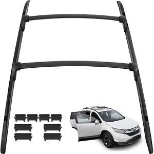 AUTEX Aluminum Crossbar Roof Rack Compatible with Honda CRV 2012 2013 2014 2015 2016 Honda CRV Cross Bar Side Rail Rooftop Cargo Luggage Racks