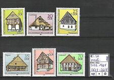DDR 1981 Fachwerkbauten (II) MiNr. 2623 - 2628 postfrisch
