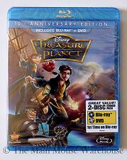 Disney's Futuristic Twist on Treasure Island TREASURE PLANET on Blu-ray and DVD