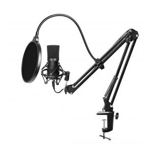 Microphone Kit Podcast Recording With Stand For Gaming Chatting Type 2 MIC J9R8