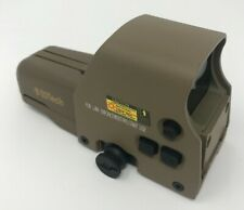 Holographic Red Green Dot 557 Airsoft Tactical Holographic Sight Tan/Desert New