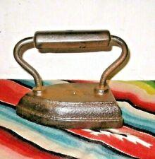 Antique OLD Vintage ALL Cast Iron Sad Iron # 4 Iron Door Stop Paper Weight