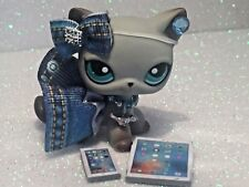 Littlest Pet Shop Clothes Accessories LPS Custom Denim Outfit  NO CAT/DOG Cute