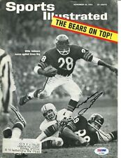 Mike Ditka Signed 1963 Sports Illustrated Cover 8x10 Autographed Bears PSA/DNA