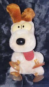 Vintage 1983 Garfields ODIE Window Plush Dog Puppy Dakin