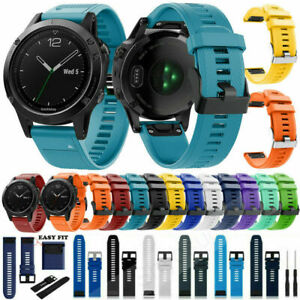 Replacement Silicone Wristband Strap Band for Garmin Fenix 6 Bracelet Watchstrap