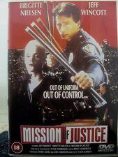 Mission Of Justice (DVD, 2000) STARRING BRIGITTE NEILSEN JEFF WINCOTT RATED 18