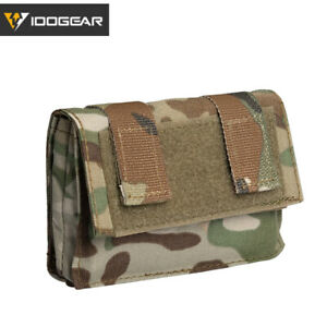 IDOGEAR Tactical Helmet Removable Rear Pouch Counterweight Battery Pouch Airsoft