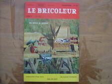 1967 LE BRICOLEUR plans conseils bricole et brocante SOMMAIRE EN PHOTO n°54