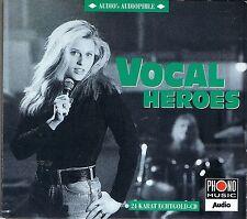 Vocal Heroes various audio's audiophile vol. 04 24 carati Zounds ORO CD RAR programmazione a oggetti