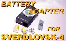 BATTERY INSERT ADAPTER 3RZ53 for SVERDLOVSK-4 light meter KIEV-60 KIEV-6S camera